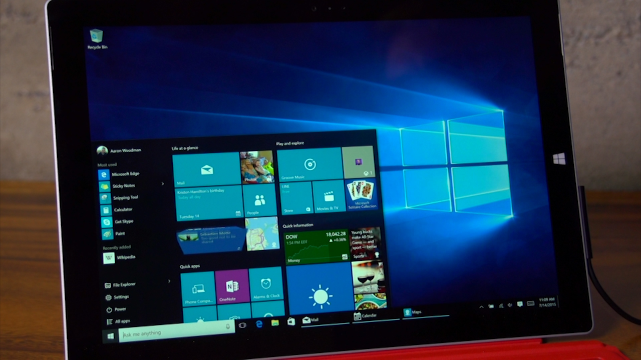 Video: New Windows 10 features