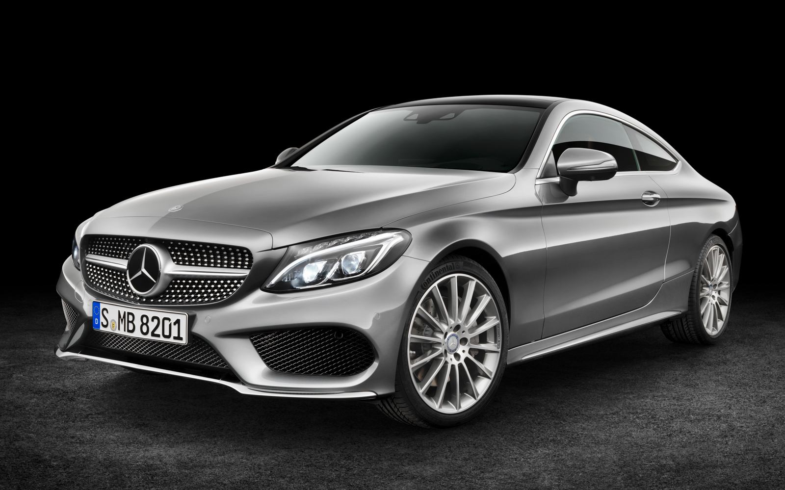 Mercedes benz previews sporty 2017 c class coupe pictures for Sporty mercedes benz