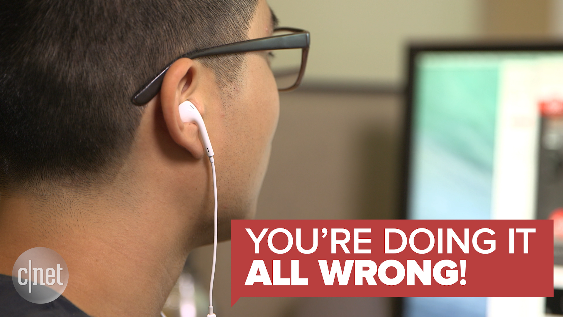 Video: The inconvenient truth about wearing earbuds