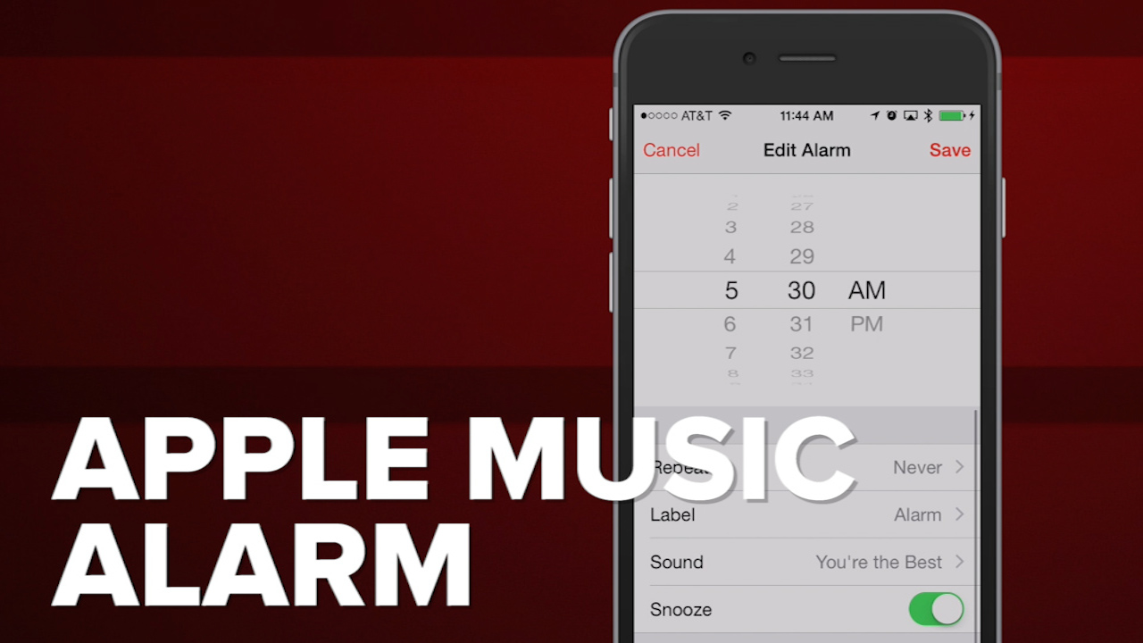 Video: Wake up to Apple Music
