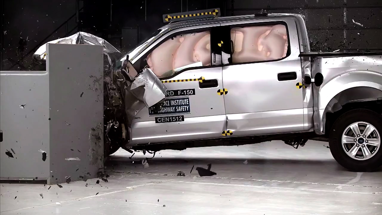 Video: Smarter Driver: New crash testing for pickup trucks on the way