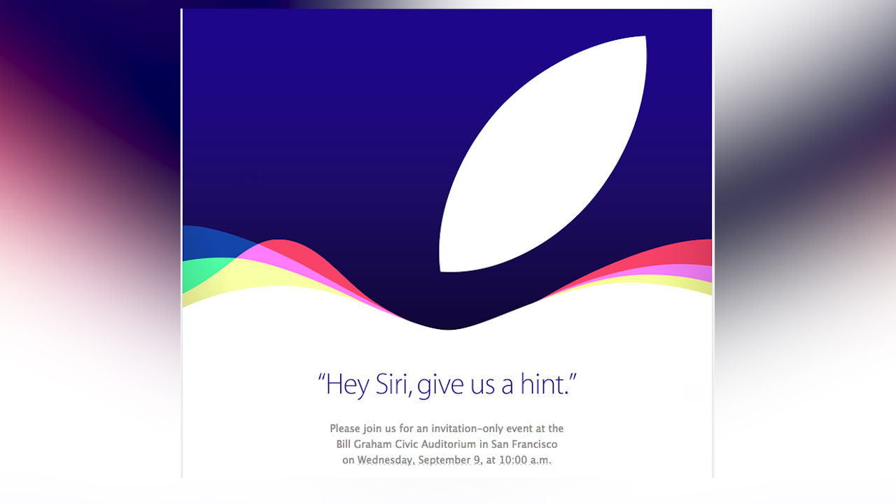 Video: Inside Scoop: Hey Siri, give us a hint of Apple's September 9 event