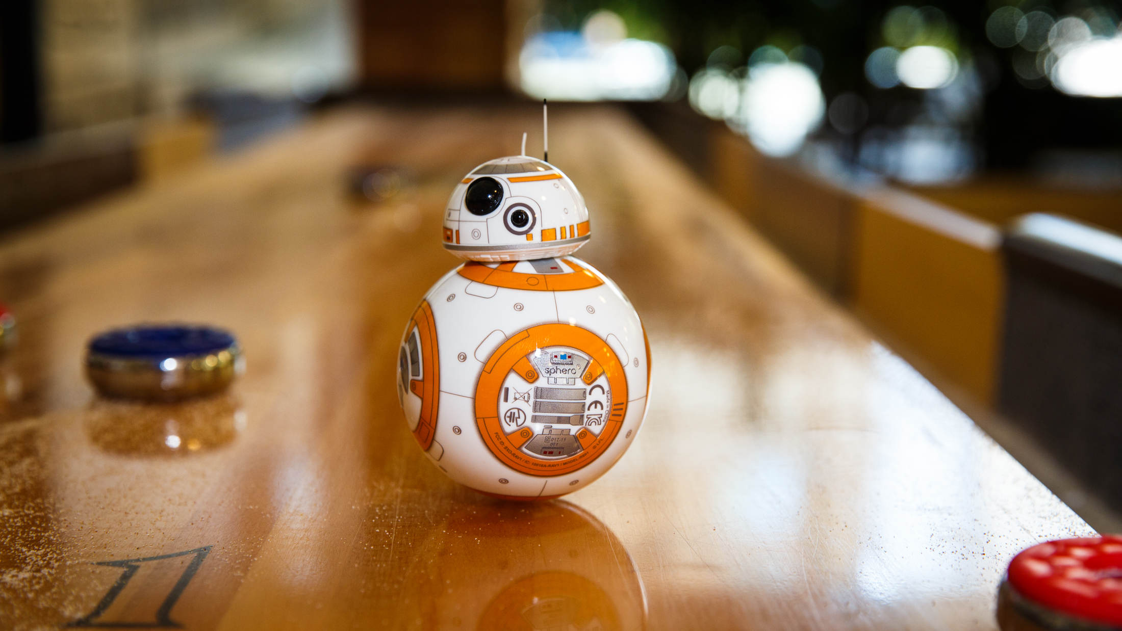 Sphero BB-8 wants to watch 'The Force Awakens' with you
