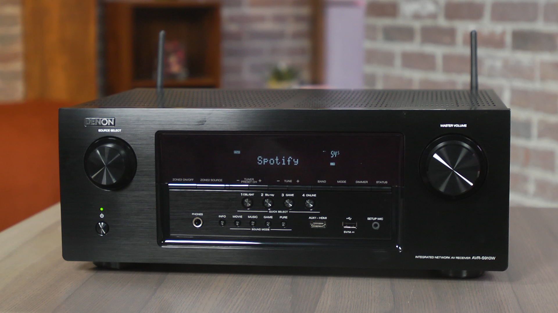 Video: Denon AVR-S910W offers mighty home cinema performance