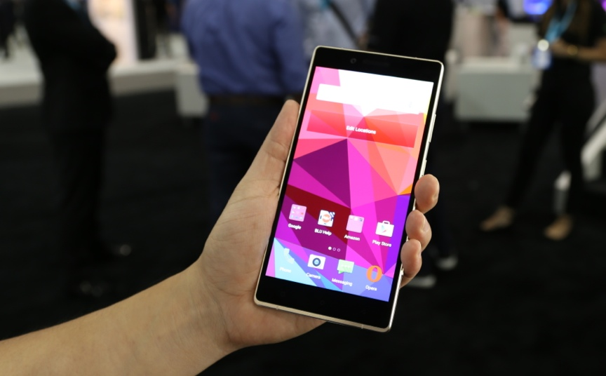 "<p>The <a href=""http://www.cnet.com/products/blu-pure-xl/"">Blu Pure XL</a> is a huge 6-inch handset that runs on Android 5.0 Lollipop.</p>"