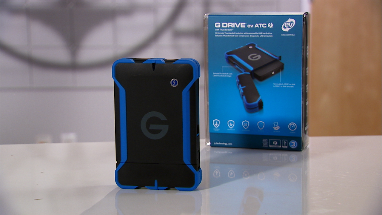 Video: The G-Tech GDrive EV ATC is one tough and versatile portable drive