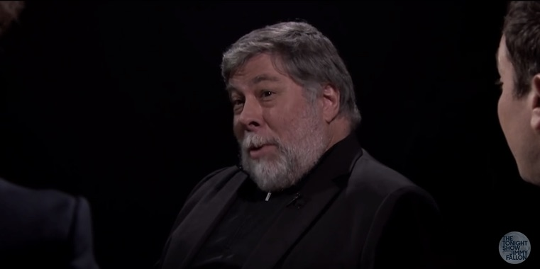 Steve Wozniak, fooling 'em all.