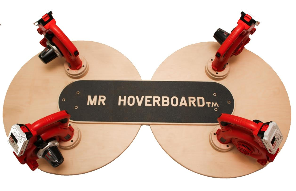This may be as close as you'll ever get to a hoverboard.