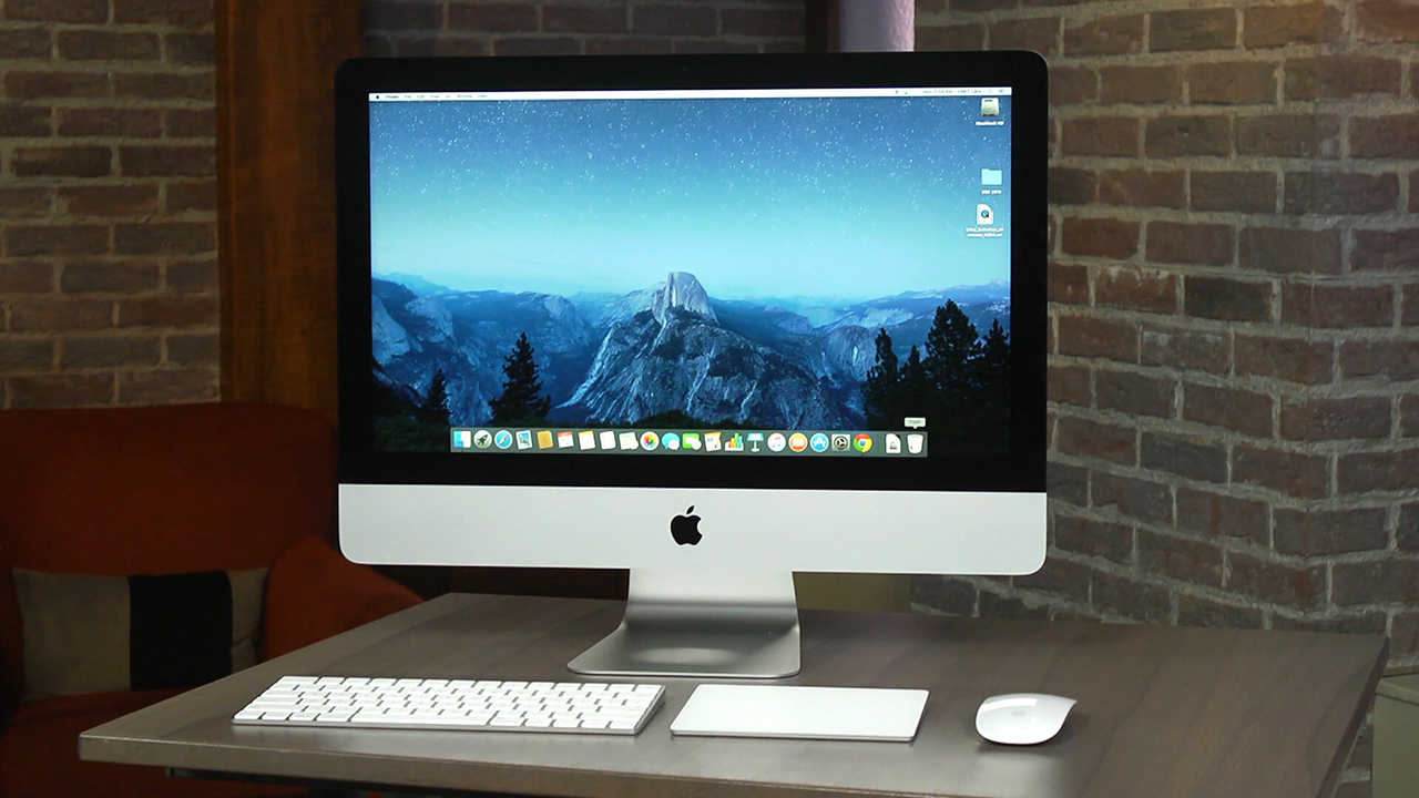 Video: Apple's 21.5-inch iMac gets a new 4K display