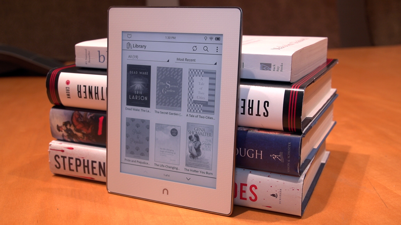 Video: Nook GlowLight Plus e-reader is fully waterproof, has sharper screen