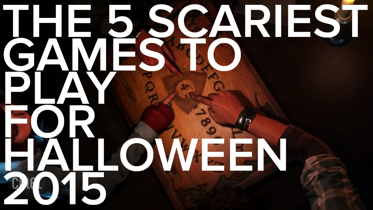 Video: The 5 scariest games to play for the 2015 Halloween season