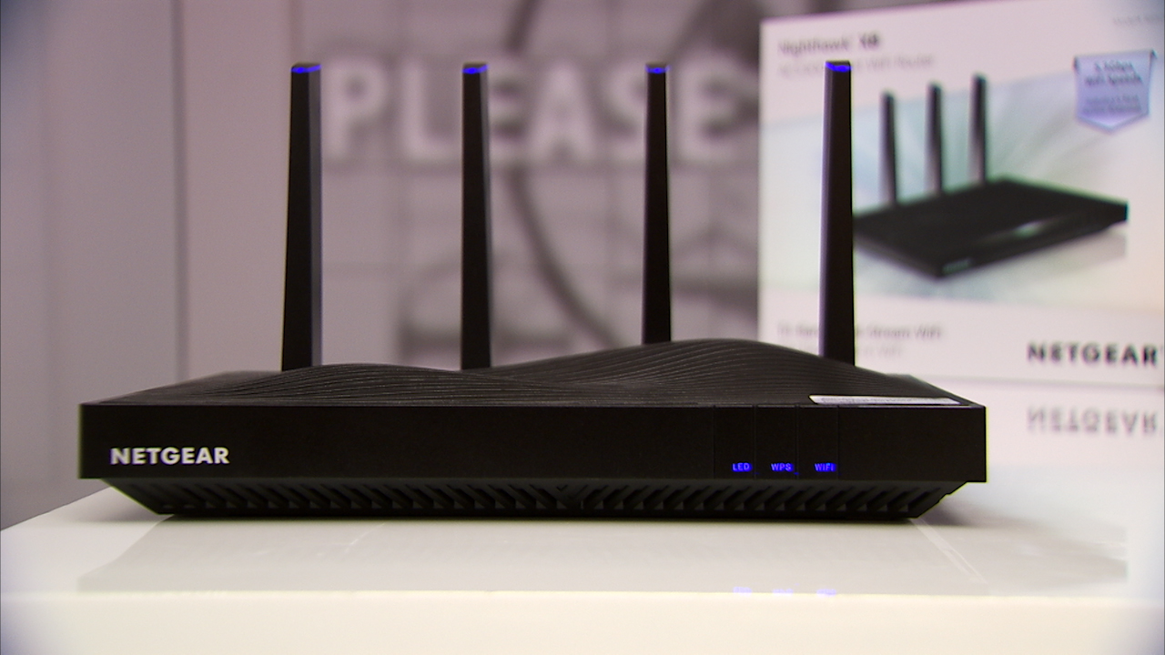 Video: The Netgear NightHawk X8 is one big and expensive router