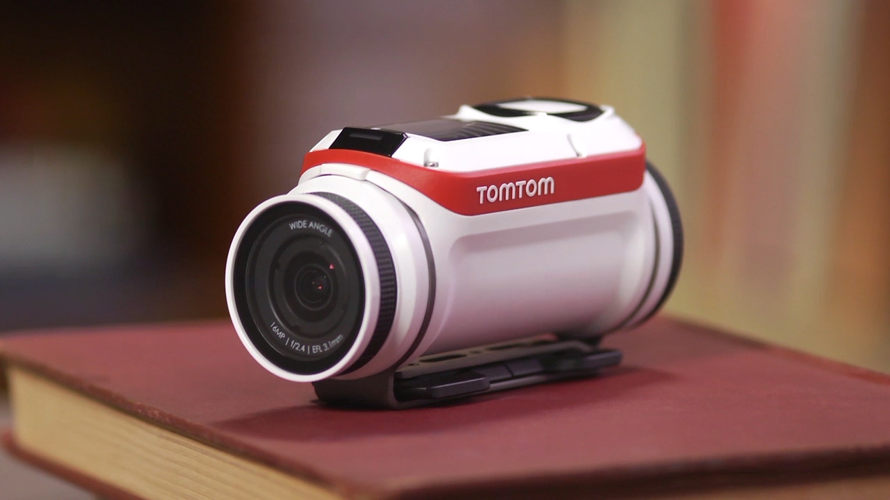 Video: TomTom's Bandit camera uses sensor smarts to solve editing headaches