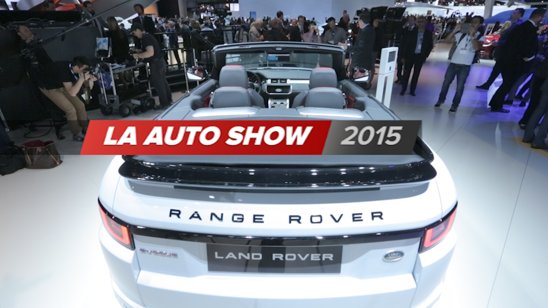 Video: 2015 LA Auto Show special edition​ (CNET On Cars, Episode 78)​