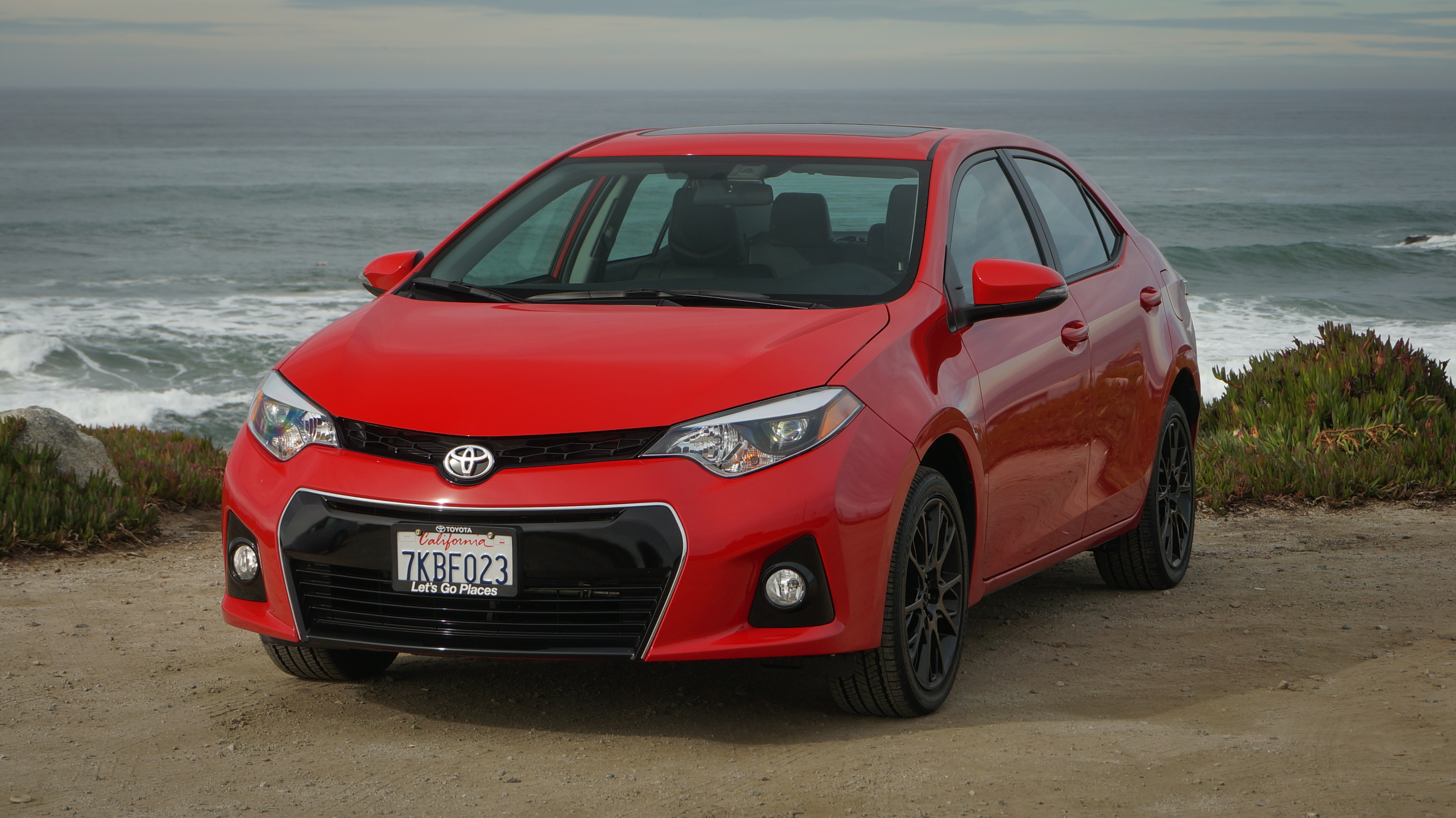 Amazing 2016 Toyota Corolla S Review It Looks Angry But This Economy Compact
