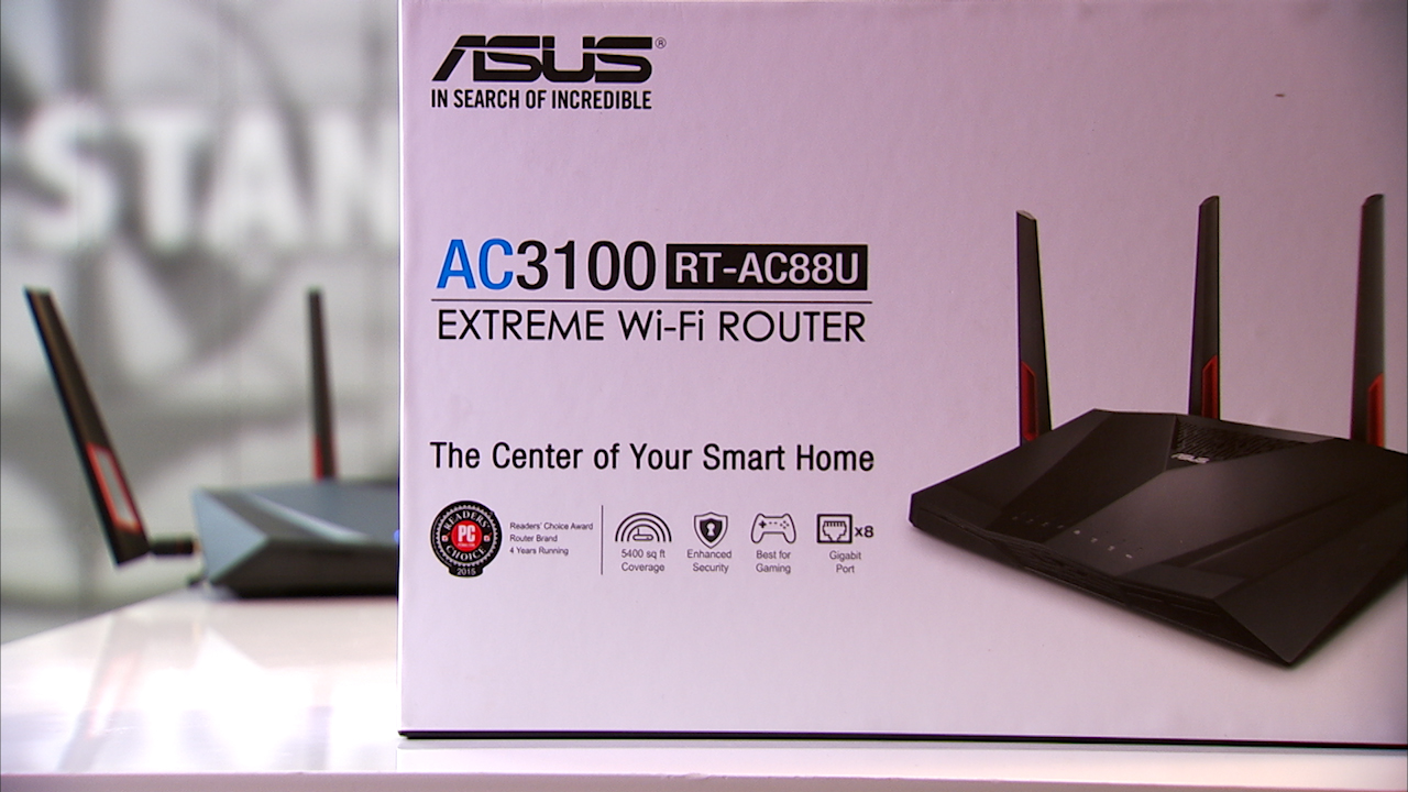 Video: The Asus RT-AC88U has more than just a ton of LAN ports