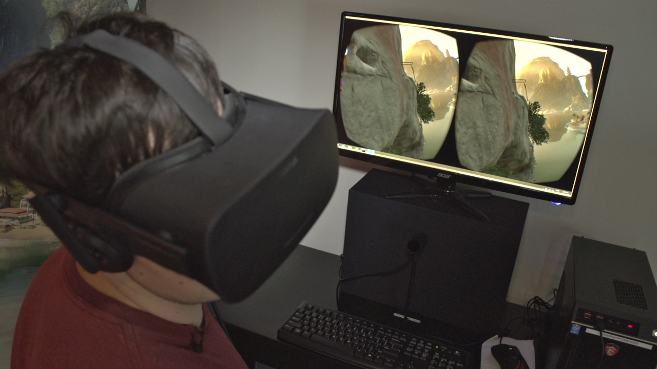 Video: Watch us scale a beautiful cliff in this game for the Oculus Rift