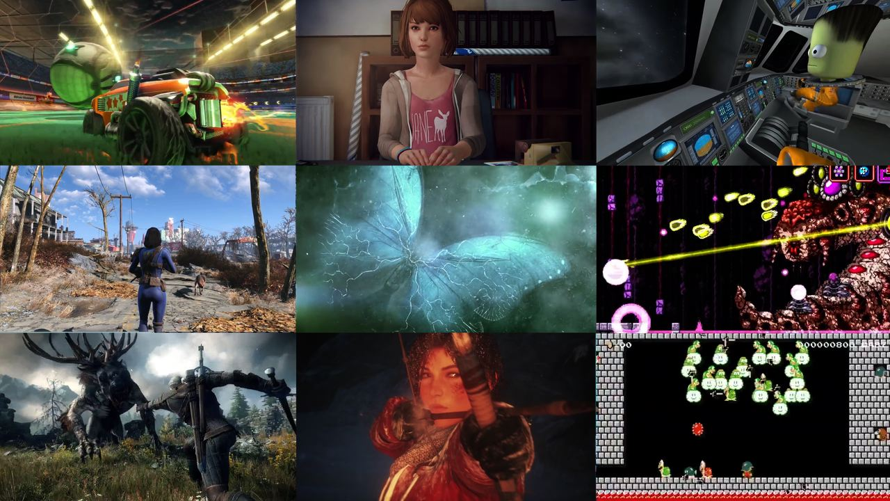 Video: The best video games of 2015