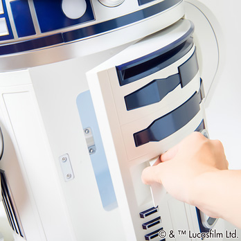 Haier R2-D2 Moving Refrigerator