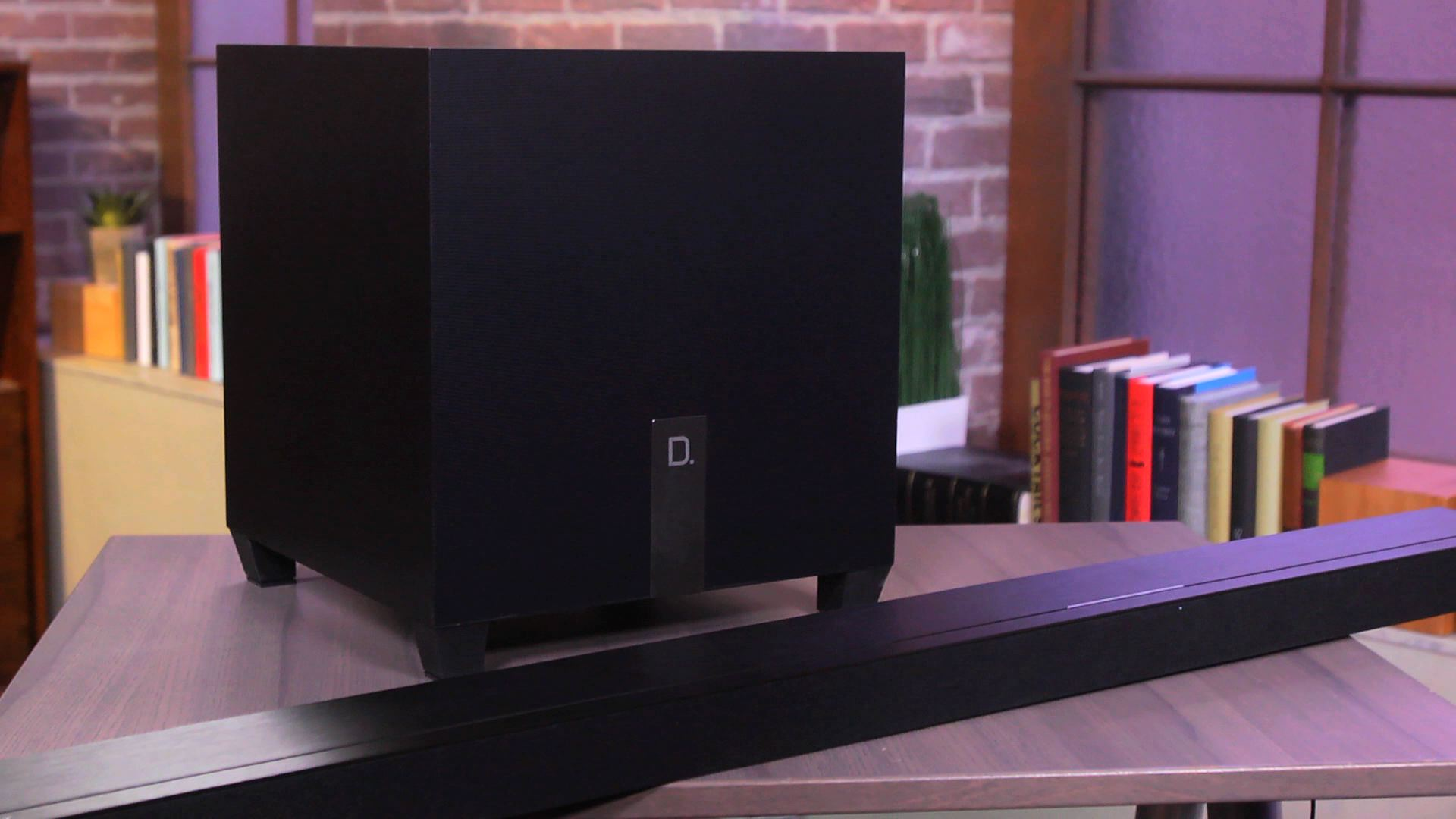Video: Definitive Technology W Studio Micro: an elegant high-end soundbar