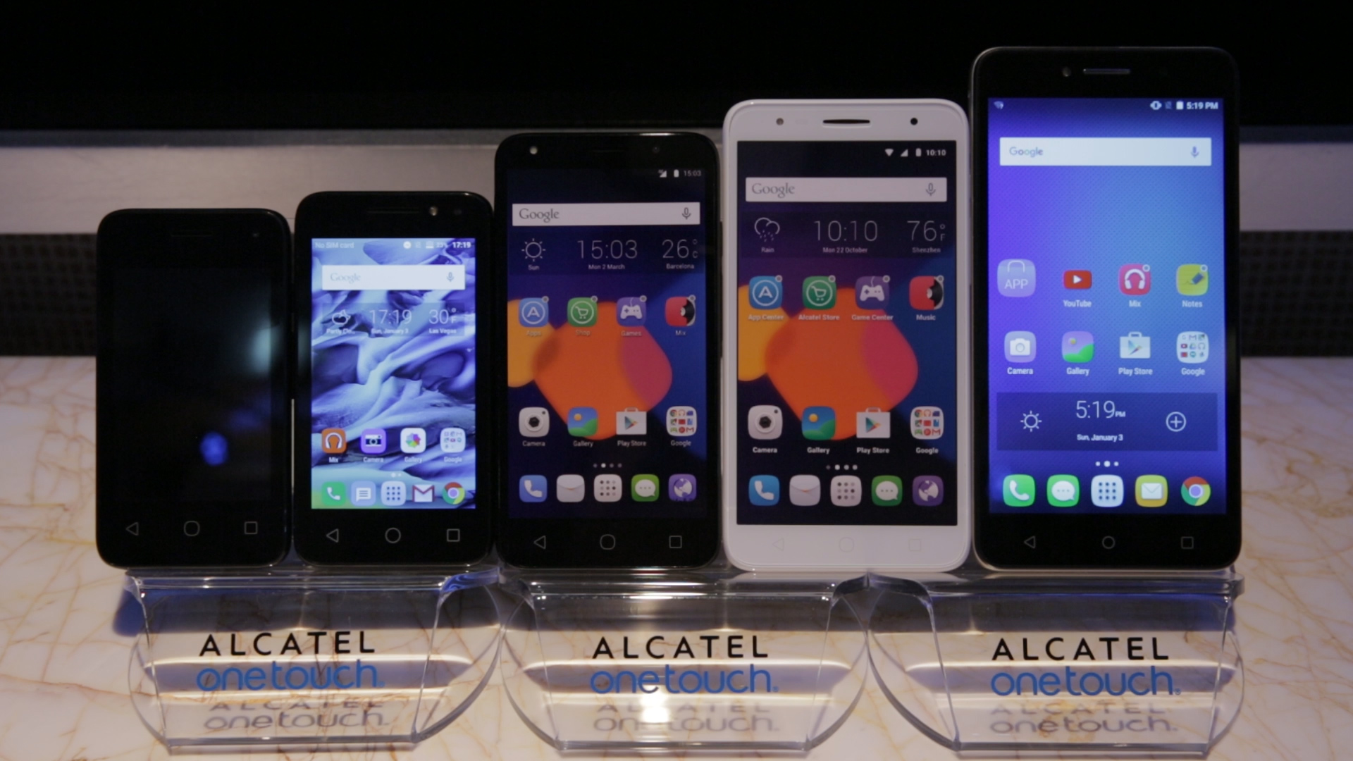 Video: Alcatel Pixi 4 phones go from really big to really little