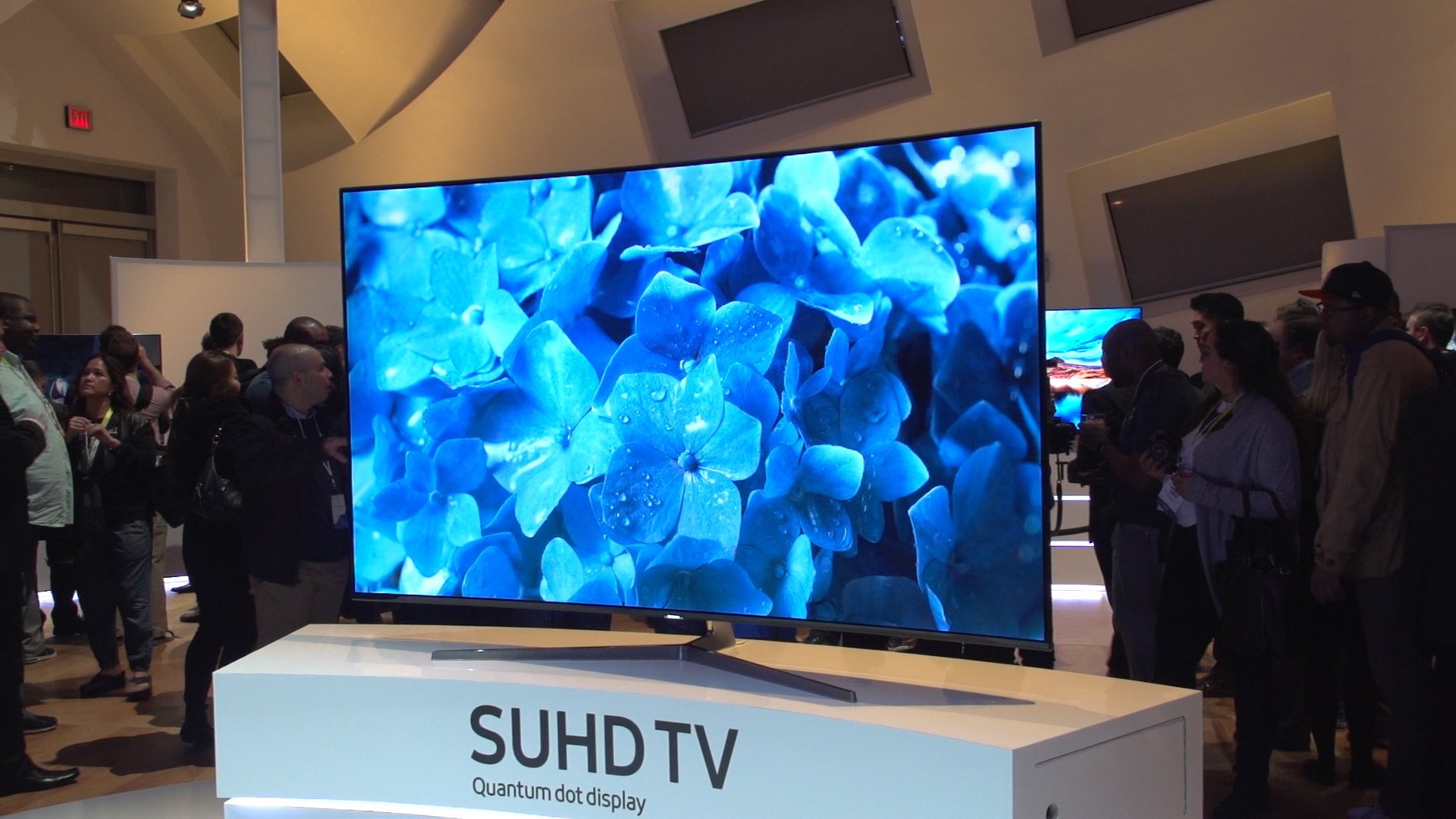 Samsung's new quantum dot TVs hit the UK, from £1,299