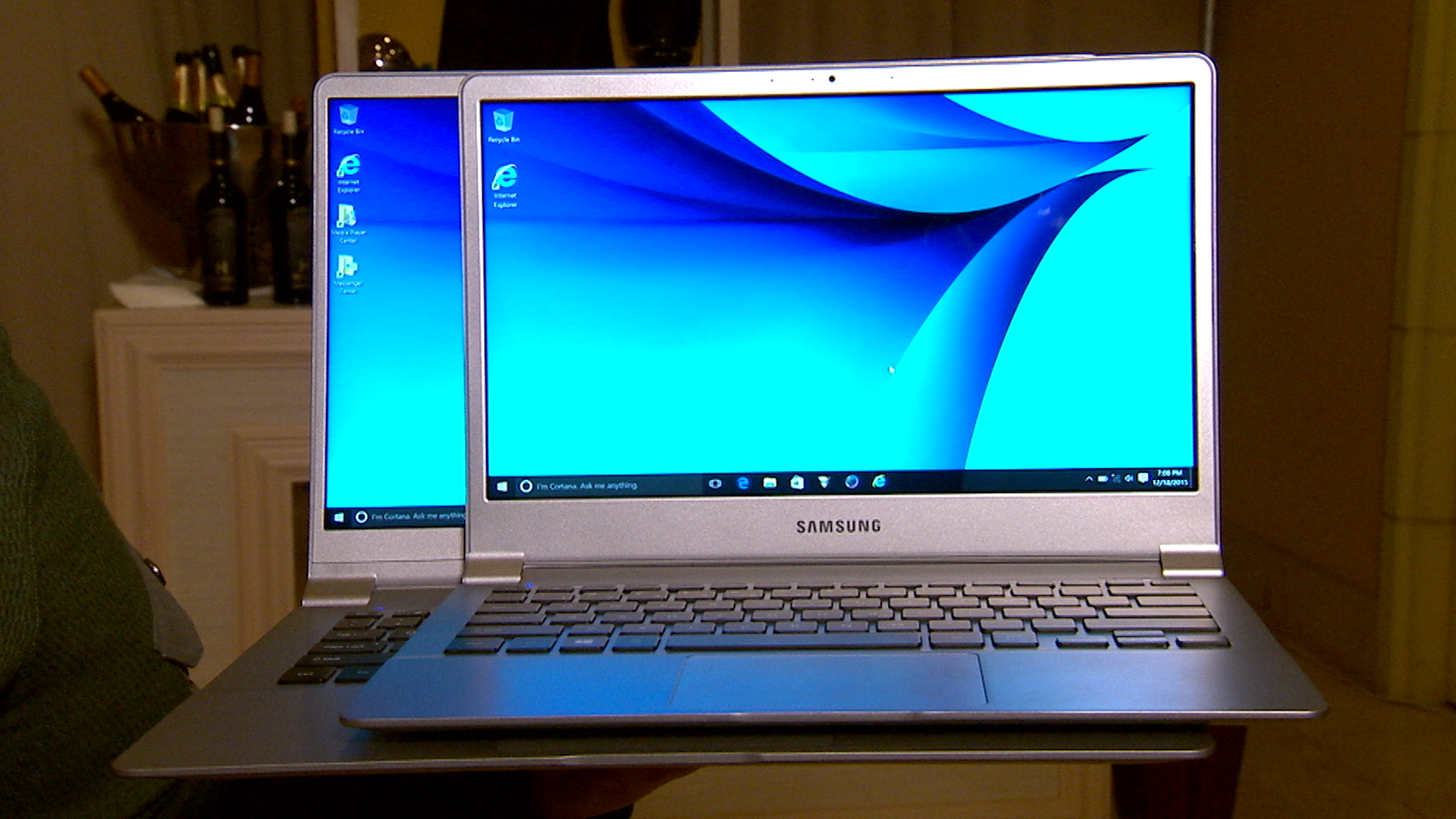 Video: Samsung lightens your laptop load with these magnesium PCs