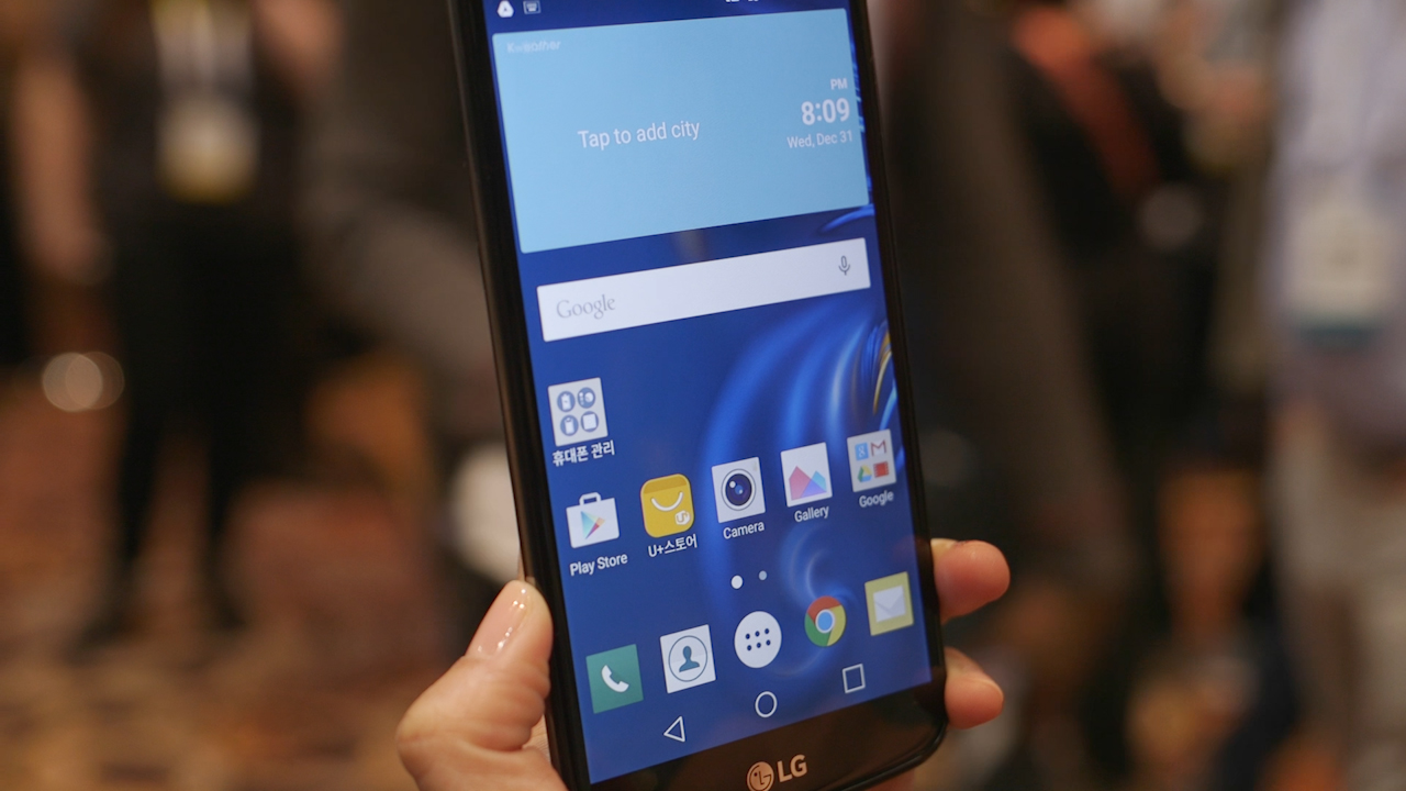 Video: Glossy K10 injects new life to LG smartphone design