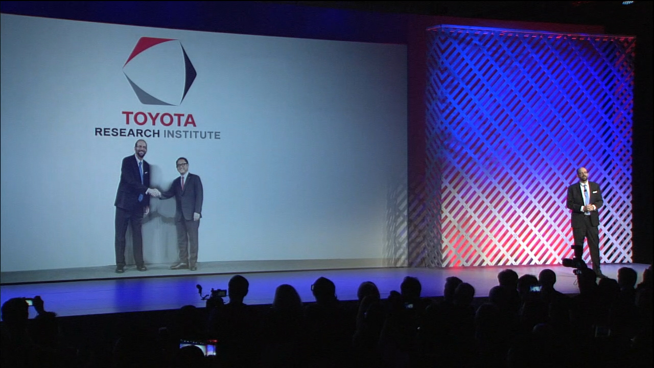 Video: Toyota making billion-dollar bet on AI and robotics research