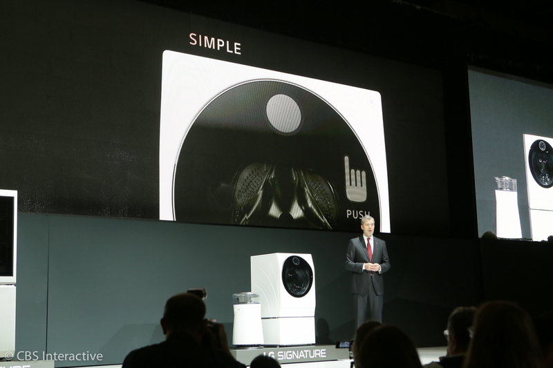 ​LG Signature Washing Machine