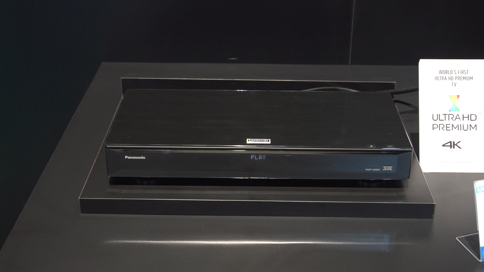 Video: Panasonic bows 4K Blu-ray player