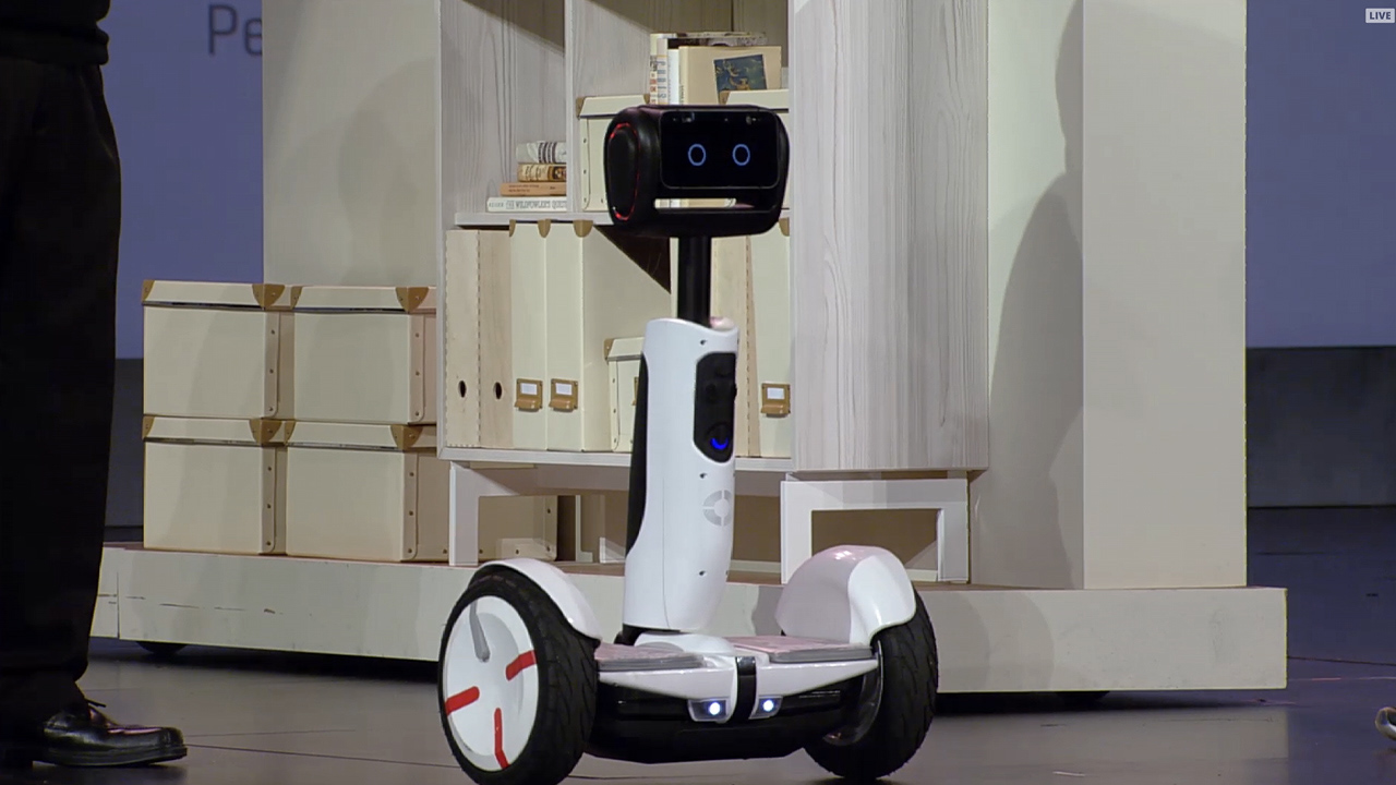 Video: See Intel's Segway robot in action