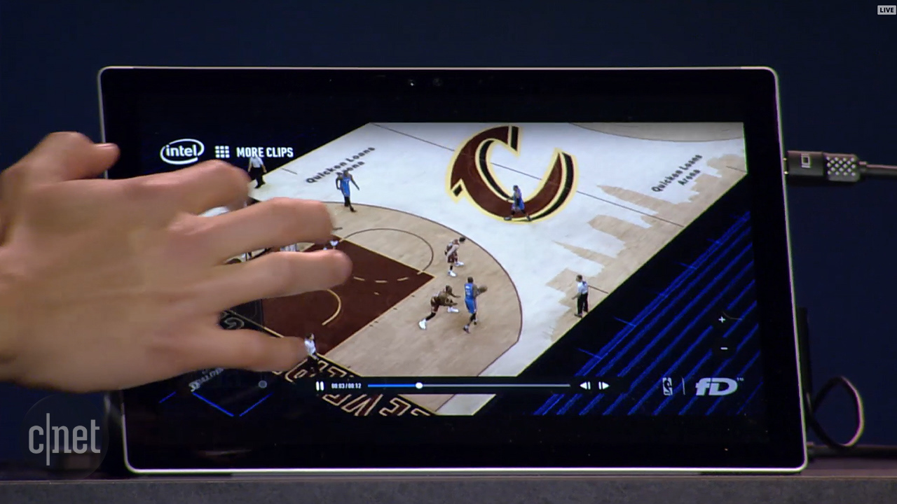 Video: Intel demos new 3D replay technology for live sports