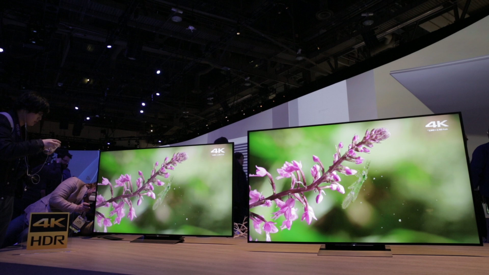 Video: Screen time at CES: Newest TVs and entertainment devices