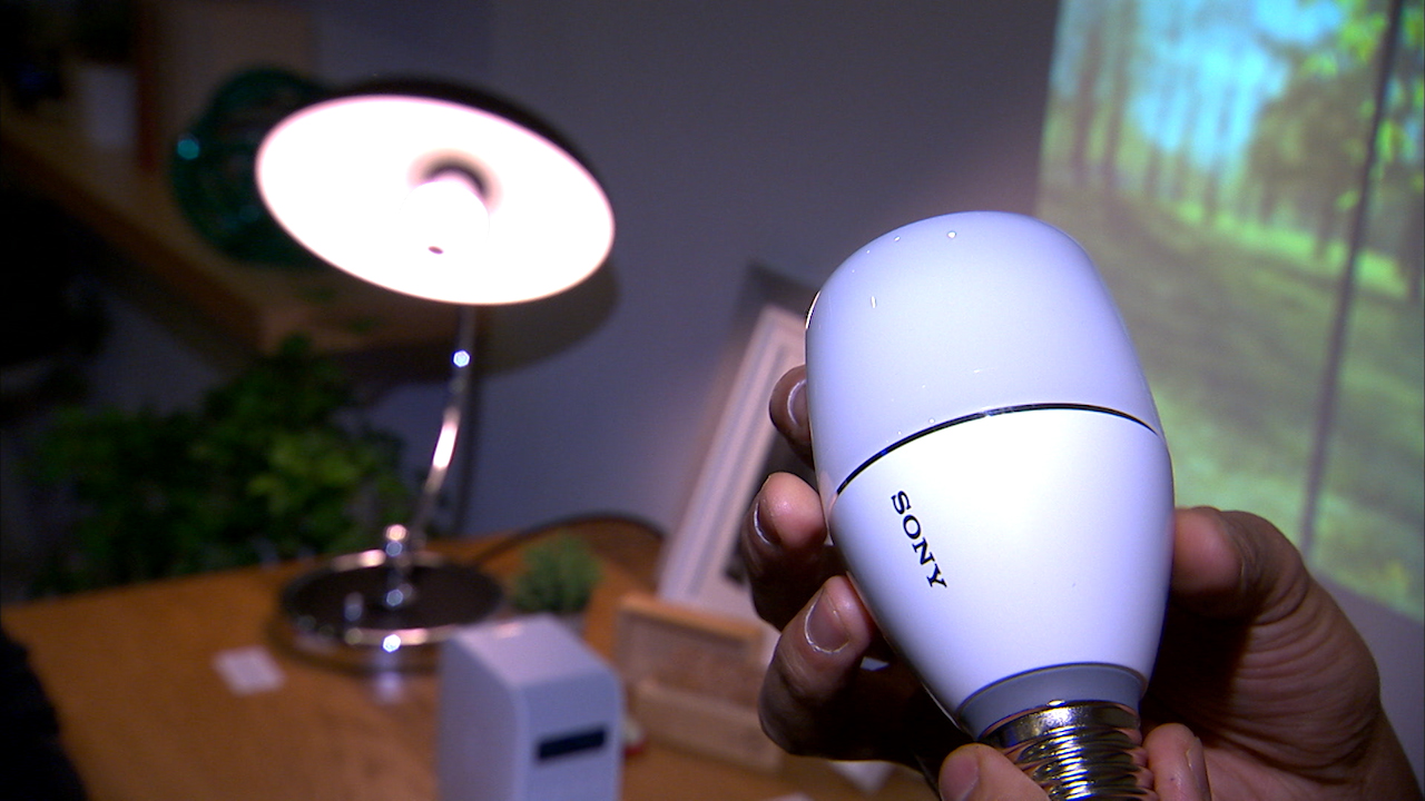 Video: Sony LED Bulb Speaker sounds like a bright idea