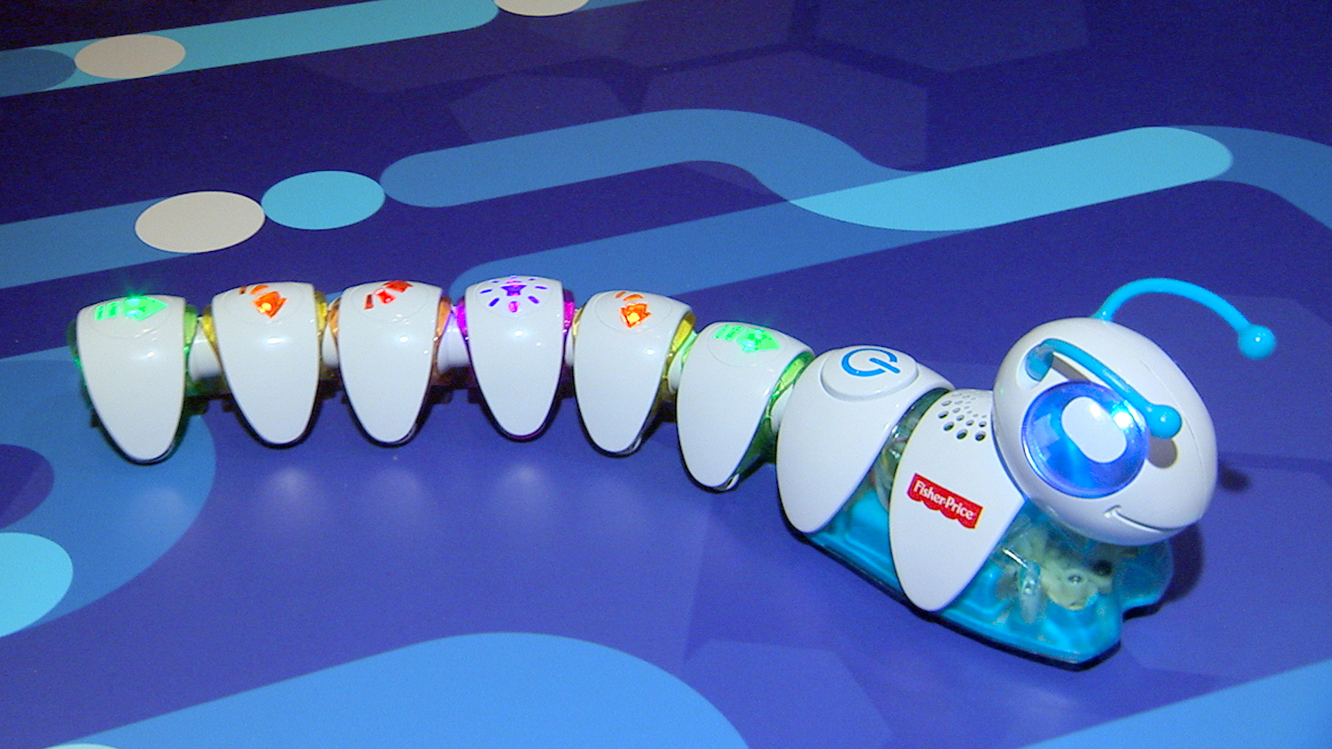 Video: Fisher Price Code-a-Pillar lets you plug and program a little robot friend