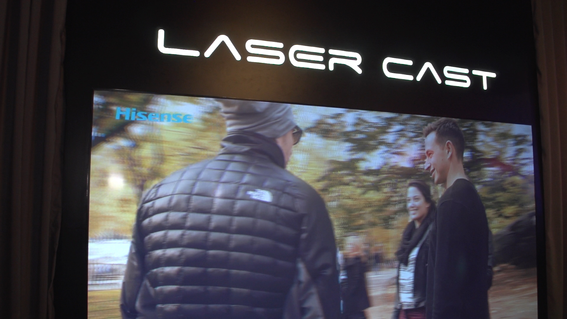 Video: Hisense LaserCast is a 100-inch projection-based TV