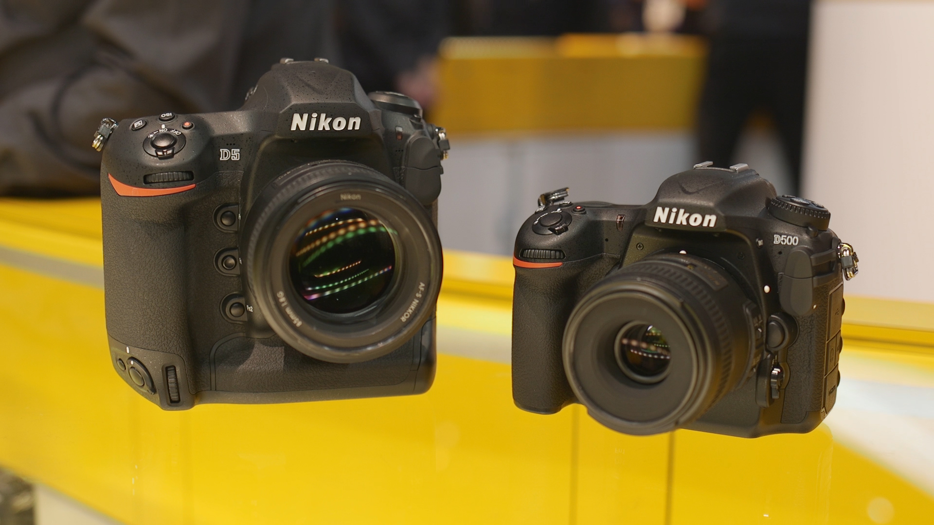 Video: Hands-on with Nikon's newest DSLRs