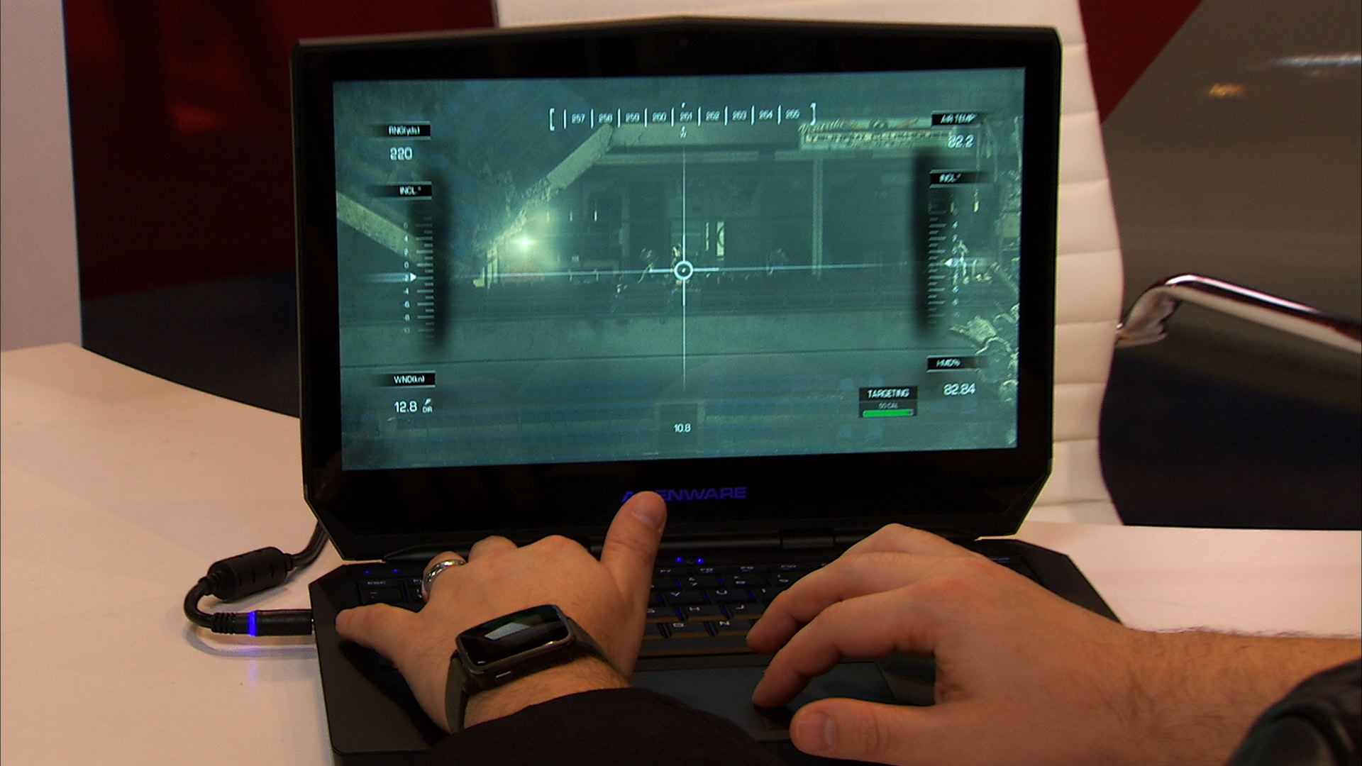 Video: Feast your eyes on this gaming laptop's new OLED screen