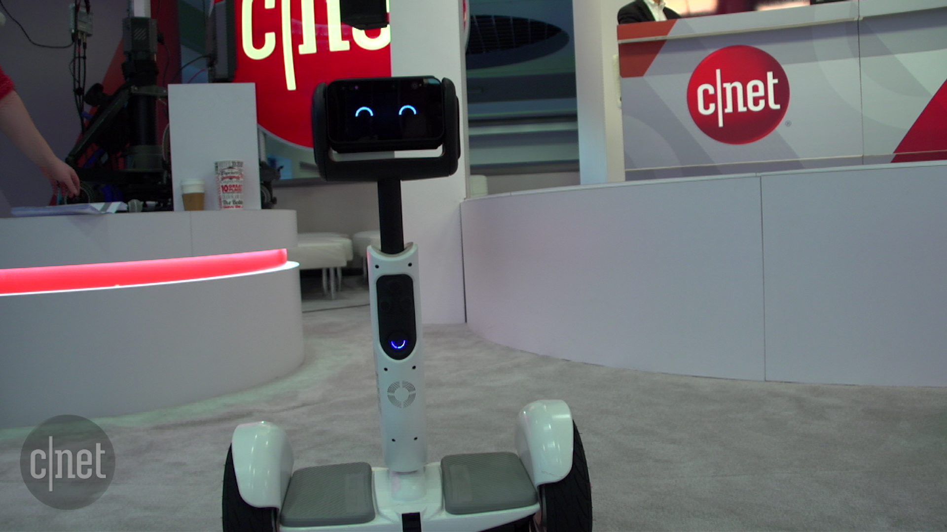 Video: The Segway Ninebot is your new robot buddy that you can also ride