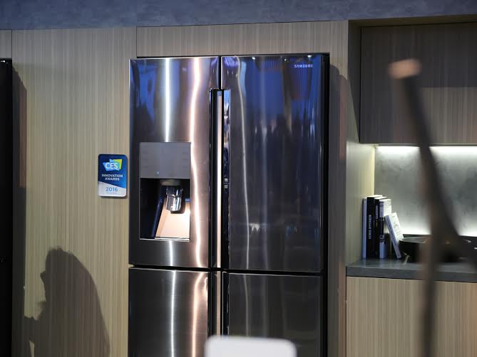 Samsung Four-Door Flex Food Showcase Refrigerator