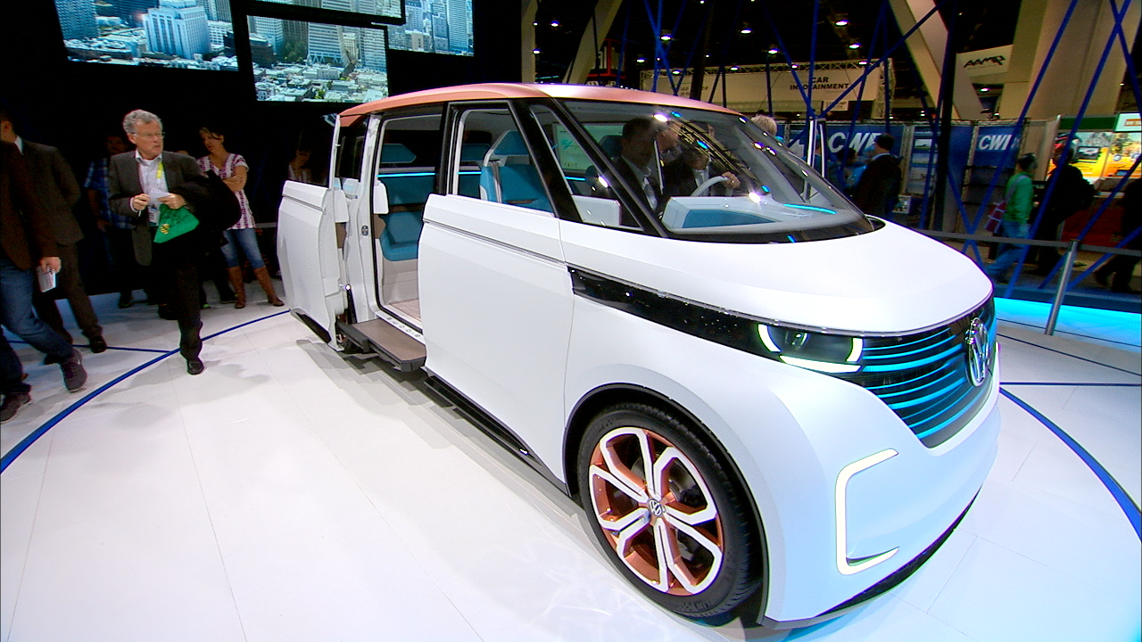 Video: Cars of the future zoom into CES
