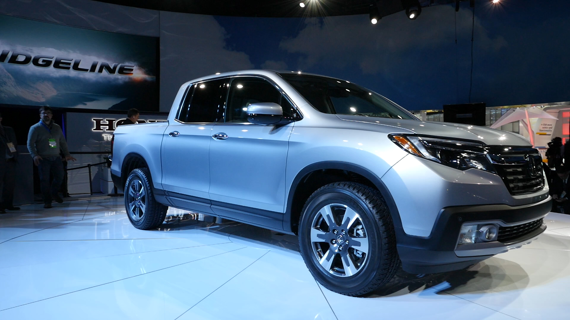 Video: Honda brings back the Ridgeline at the North American International Auto Show