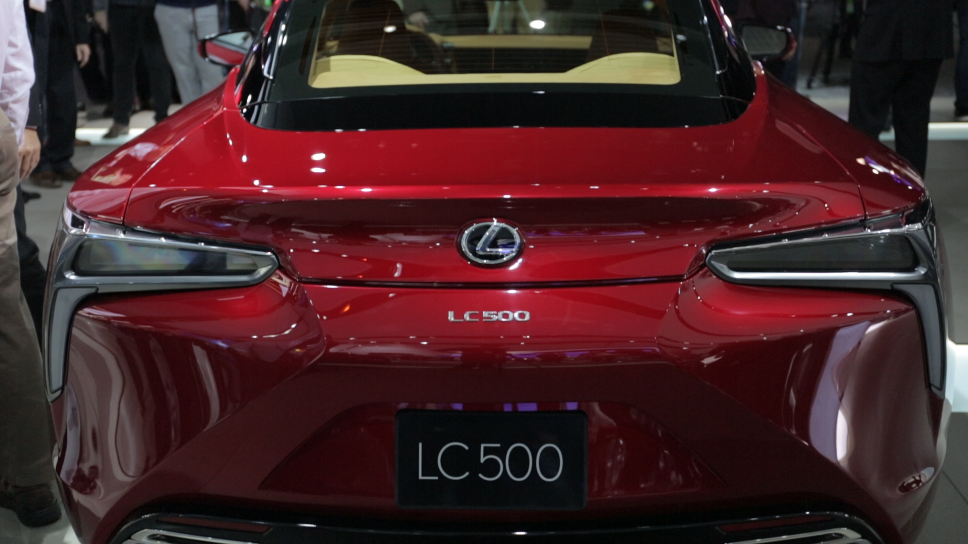 Video: Lexus LC 500 brings concept to reality in Detroit