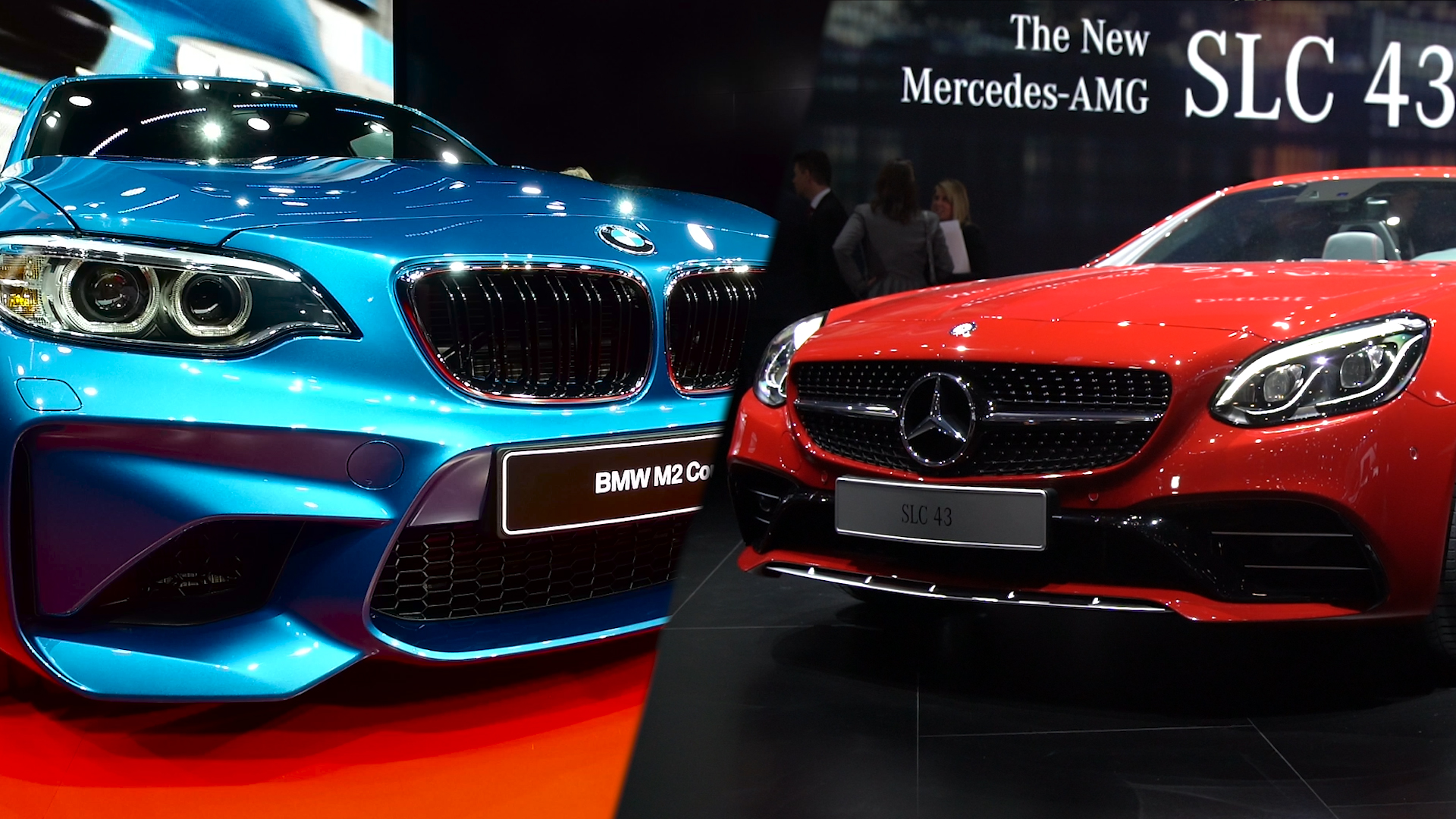 Video: Mercedes-AMG SLC 43 or BMW M2?