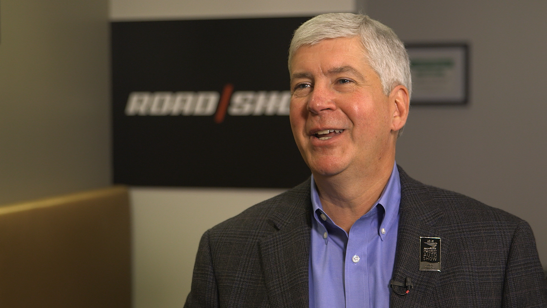 Video: Michigan Gov. Snyder on his effort to bring car tech to the Motor City ​