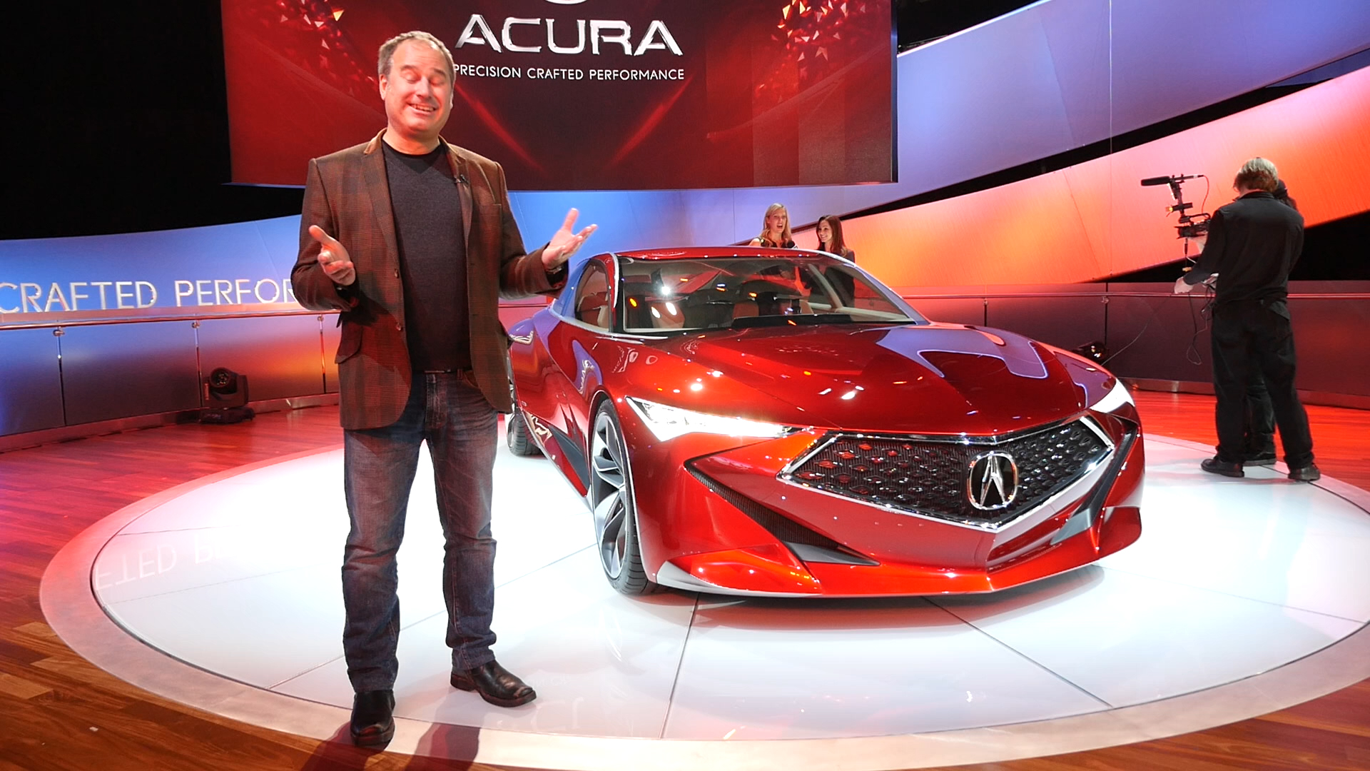 Video: Concepts at Detroit: Can I be a real car?