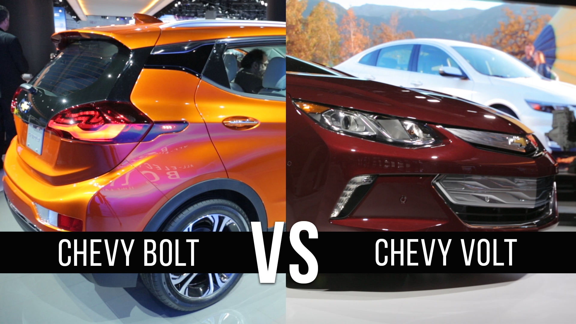 Video: Chevrolet Bolt vs Volt: Why not both?