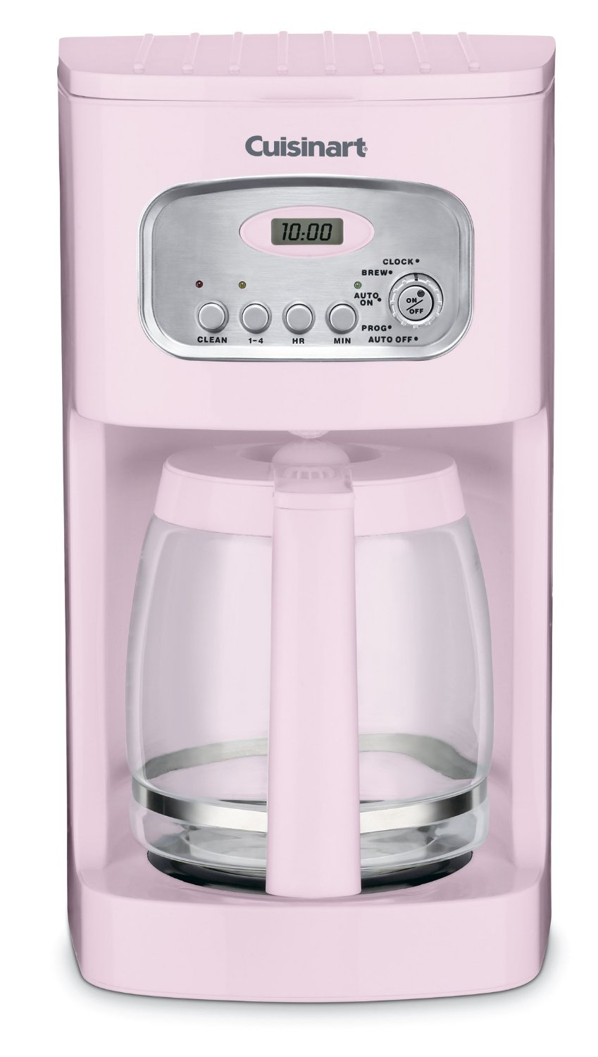 Cuisinart Self-clean Programmable Coffee Brewer (Pink)