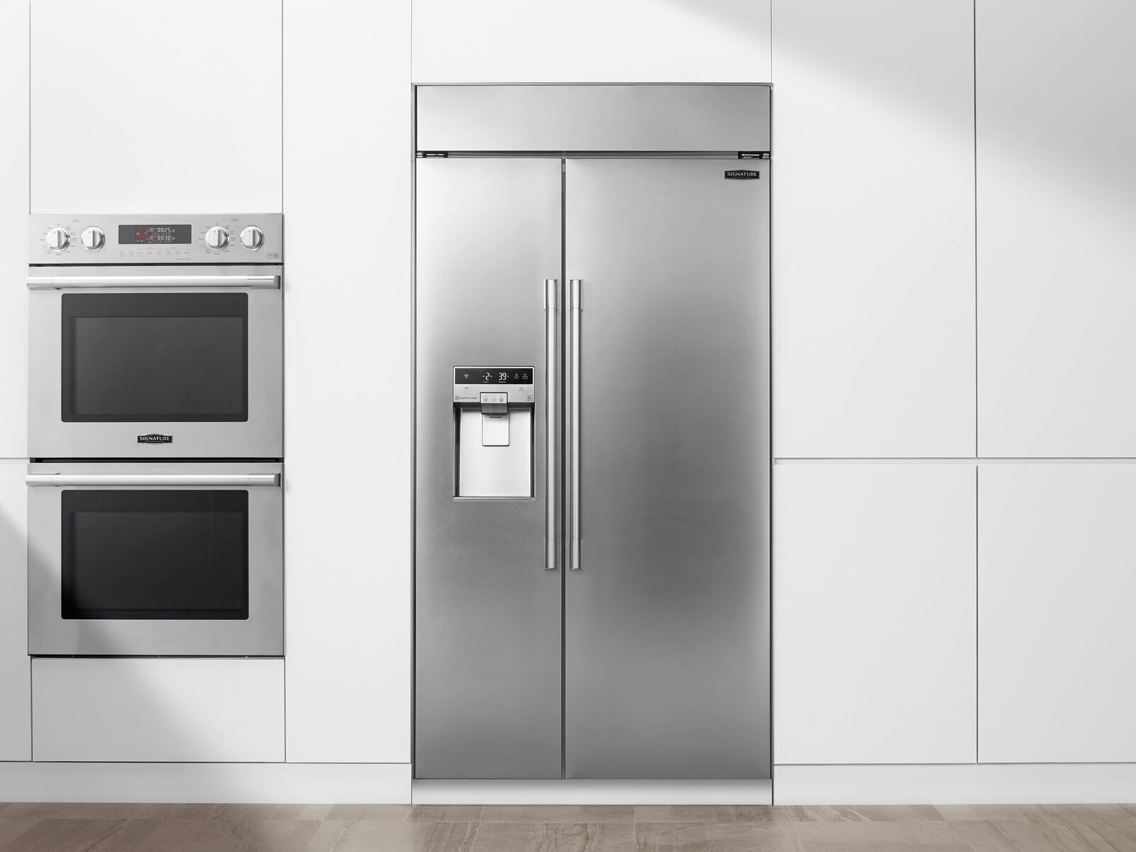 Signature Built-in Side-by-Side Refrigerator